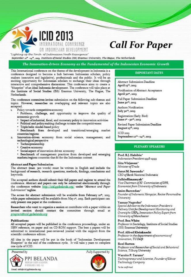 Academic CFP - zippyframescom